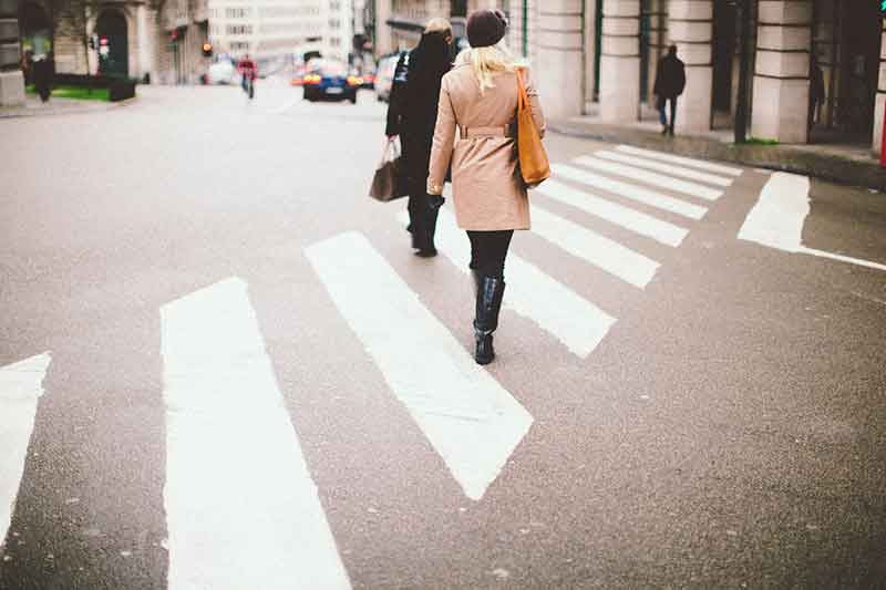 Peaton atropellado en paso de peatones